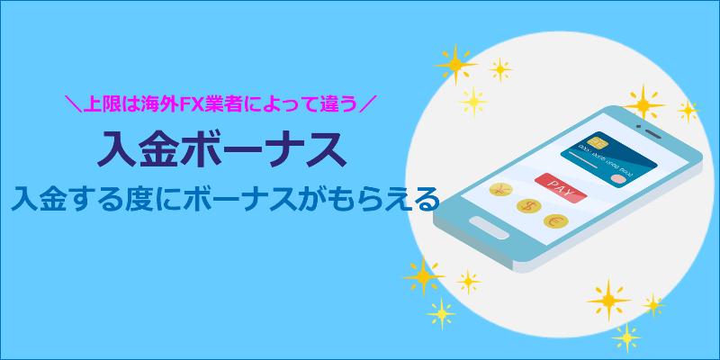 海外FX 100入金 ボーナス